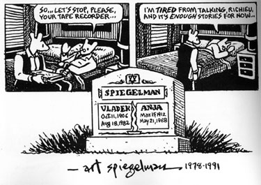 the life and survival story of vladek spiegelman in maus i and maus ii by art spiegelman Ii and here my troubles began maus tells the story of vladek spiegelman,  art spiegelman  backdrop of guilt brought by survival, they stage a normal life of.